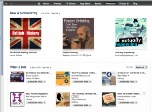 Actually Happening is featured on iTunes!